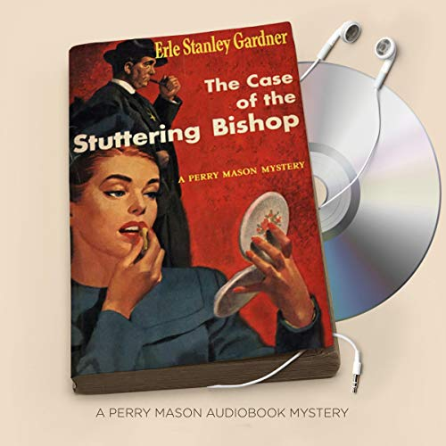 The Case of the Stuttering Bishop audiobook cover art