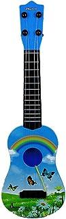Enfants Guitare Toy Abs 4 Cordes Simulation Mini Guitare Enfants Enfants Pédagogiques Instrument De Musique Cadeau Bébé Ba...