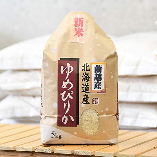 小樽 越後屋米穀店 蘭越産 ゆめぴりか 5kg