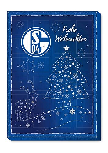 FC Schalke 04 Adventskalender 2020 Kalender inkl. 3 Aufkleber Fußball Weihnachten Fanartikel S04 (€ 6,42/100g)