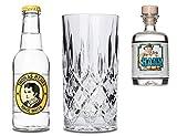 Lucky HANS Bavarian Dry Gin & Tonic Set | 1x Lucky HANS Gin Mini | 1x Thomas Henry Tonic Wasser | 1x...