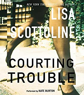 Courting Trouble audiobook cover art