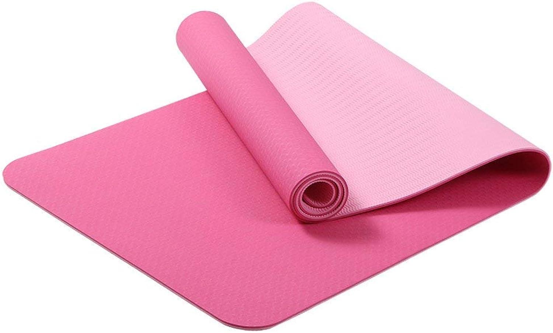 MDMMBB TPE Yoga-Matte weibliche Verdickung Lange Anfnger Rutschfeste Fitness Yoga-Matte