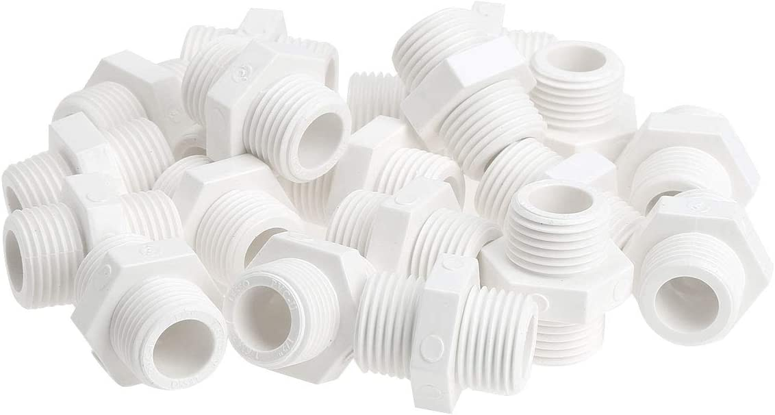 dPois 20Pcs Finally Max 43% OFF popular brand PVC Water Heater Plug w Replacement Drain Compatible