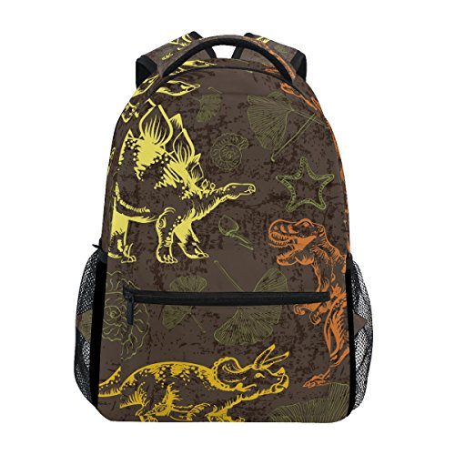 TIZORAX Jurassic - Mochila de dinosaurio para escuela, mochila de senderismo