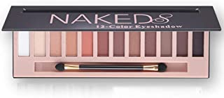 Cosprof 12 Colors Professional Eyeshadow Palette Face Matte & Shimmer Makeup Eye shadow Palette Nudes Warm Natural Neutral Smoky Cosmetic Eye Shadows (Matte)