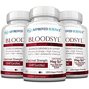 Promote Normal Cholesterol Levels Increase Blood Flow and Circulation Boost Healthy Blood Lipids 60 Vegan Friendly Capsules Per Bottle Made In the USA