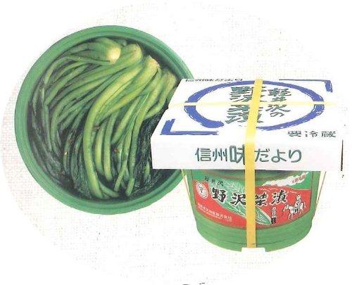 信州の野沢菜漬け 【大 5kgタル】