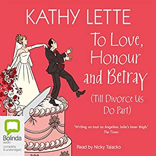 To Love, Honour and Betray cover art