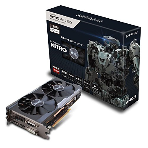 SAPPHIRE Nitro R9 380 2GB GDDR5 PCI-E DL-DVI-I DL-