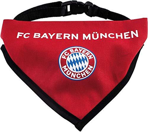 FC Bayern München Hunde Halstuch Karo FCB Munich, Hundehalstuch, Hundetuch