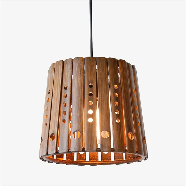 Deckenbeleuchtung Deckenleuchte Pendelleuchten Kreativer Antiker Bambus-Justierbare Hngende Lichter Retro- Persnlichkeitsmerkmale-Hlzerner Leuchter