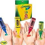 Crayola Hand Sanitizer for Kids, Pack of 4 Antibacterial Gel Bottles for Back to School Supplies, 2 fl oz/ea