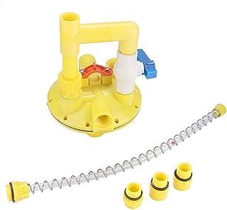 sococo Water Line Regulator, Automatic Drinker Water Line Regulator Pressure Reducer Reducing Valve for Farmed Chicken