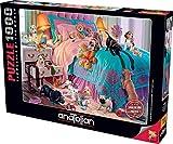 Anatolian Puzzle - Naughty Puppies, 1000 Piece Jigsaw Puzzle, Code: 1064