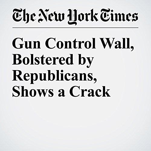 Gun Control Wall, Bolstered by Republicans, Shows a Crack audiobook cover art