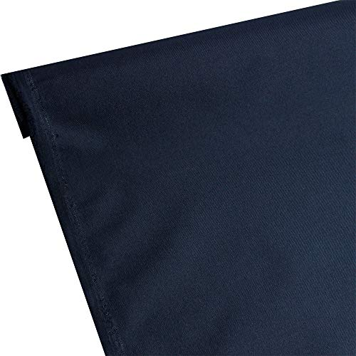 Waterproof Canvas 600 Denier Fabric by The Yard PU Backing W/R, UV, 2times Good PU Color Midnight,Navy