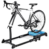 Indoor Bike Stand Bike Trainers, Exercise Station Foldable Bike Trainer Road Bicycle Indoor