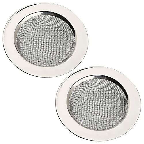 2 PCS Stainless Steel Kitchen Sink Strainer 4.5