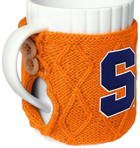 FOCO NCAA Syracusee Cable Knit Sweater Mug