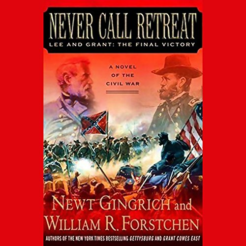 Never Call Retreat audiobook cover art