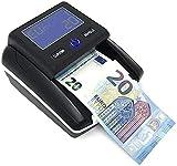 Deals Detector de billetes actualizable portátil incluido también con batería o con cable detecta dinero europeo falsos USB 2021
