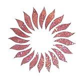 Pink Sunflower Sweet Cute Floral Flower Glitter Holographic Hologram Decals Decal Vinyl Sticker for Laptop Notebook Tablet Fridge Book