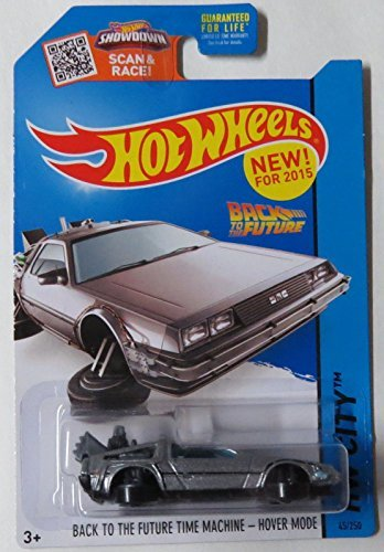 Hot Wheels 2015 HW City, Back to the Future Time Machine Hover Mode Die-Cast Vehicle #45/250