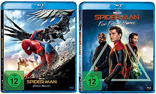Spider-Man Homecoming + Spider-Man Far From Home [Blu-ray Set]