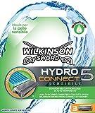 Wilkinson 70030230 - Ricariche Sensitive Hydro 5 Connect - Confezione da 3 Ricariche