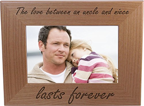 Heartwarming Picture Frame: The Love Between an Uncle and Niece Lasts Forever
