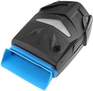 Refrigerador del Cuaderno Ventilador Externo Portátil del Aire del Radiador USB del Ordenador Portátil De La Fan del Vacío con El Botón Manual del Control De La Velocidad