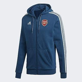 Arsenal Hoody Full Zip Blue Sweat 2019-20
