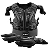 Kids Motorcycle Armor Suit Dirt Bike Gear Riding Protective Chest Spine Back Protector Shoulder Arm Elbow Knee Protector Pads for Cycling Skateboard,Skiing,Skating,Off-road