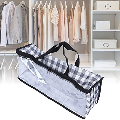 Eosnow Kleider-Organizer, wasserdichtes 600D Oxford-Stoff-Doppelendreißverschluss-Reißverschluss-Tasche für Picknick für Zuhause