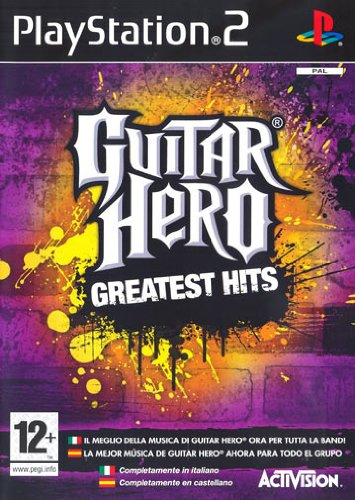 PS2 GUITAR HERO GREATEST HITS