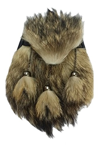 Hommes de Robe Highland complet pour kilt écossais écossais/pour kilt écossais en fourrure de renard en fourrure de renard
