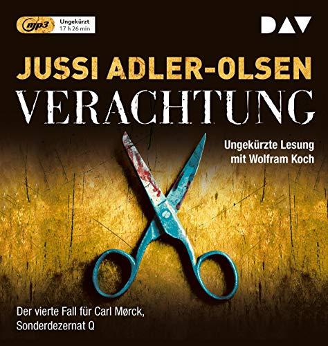 Verachtung: Ungekürzte Lesung mit Wolfram Koch (2 mp3-CDs) (Carl-Mørck-Reihe)