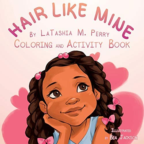 Hair Like Mine Coloring and Activity Book product image