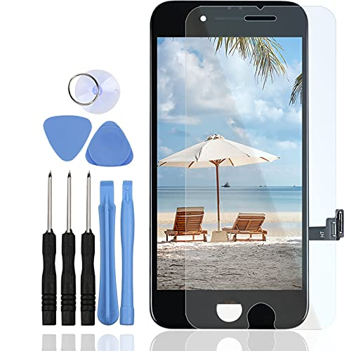 LL TRADER LCD para iPhone 7 Negro Display Digitalizador Asamblea y Pantalla Táctil con Herramientas Requeridas
