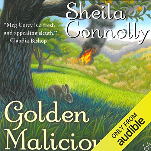 Golden Malicious audiobook cover art