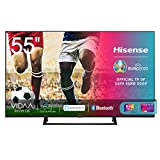 Hisense 55AE7210F, Smart TV LED Ultra HD 4K 55', Single Stand, HDR 10+, Dolby DTS, con Alexa integrata, Tuner...