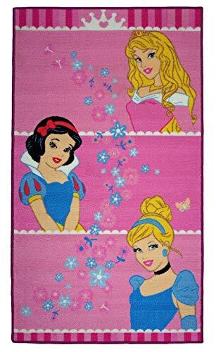 Disney Princesas Alfombra con Motivos 80 x 140 cm