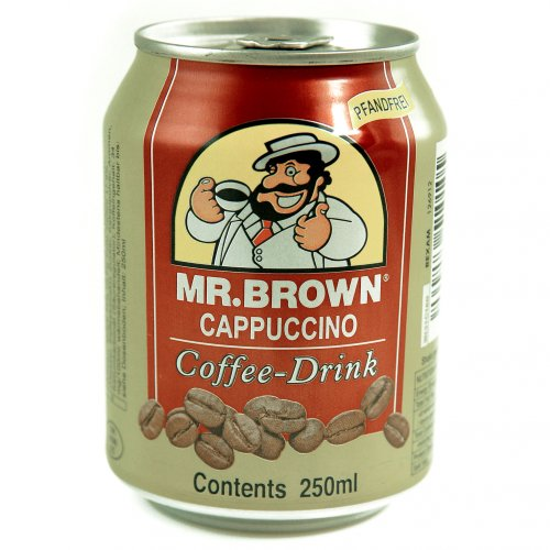 Mr. Brown Cappuccino Ice Coffee pfandfrei 24x0.25l Ds