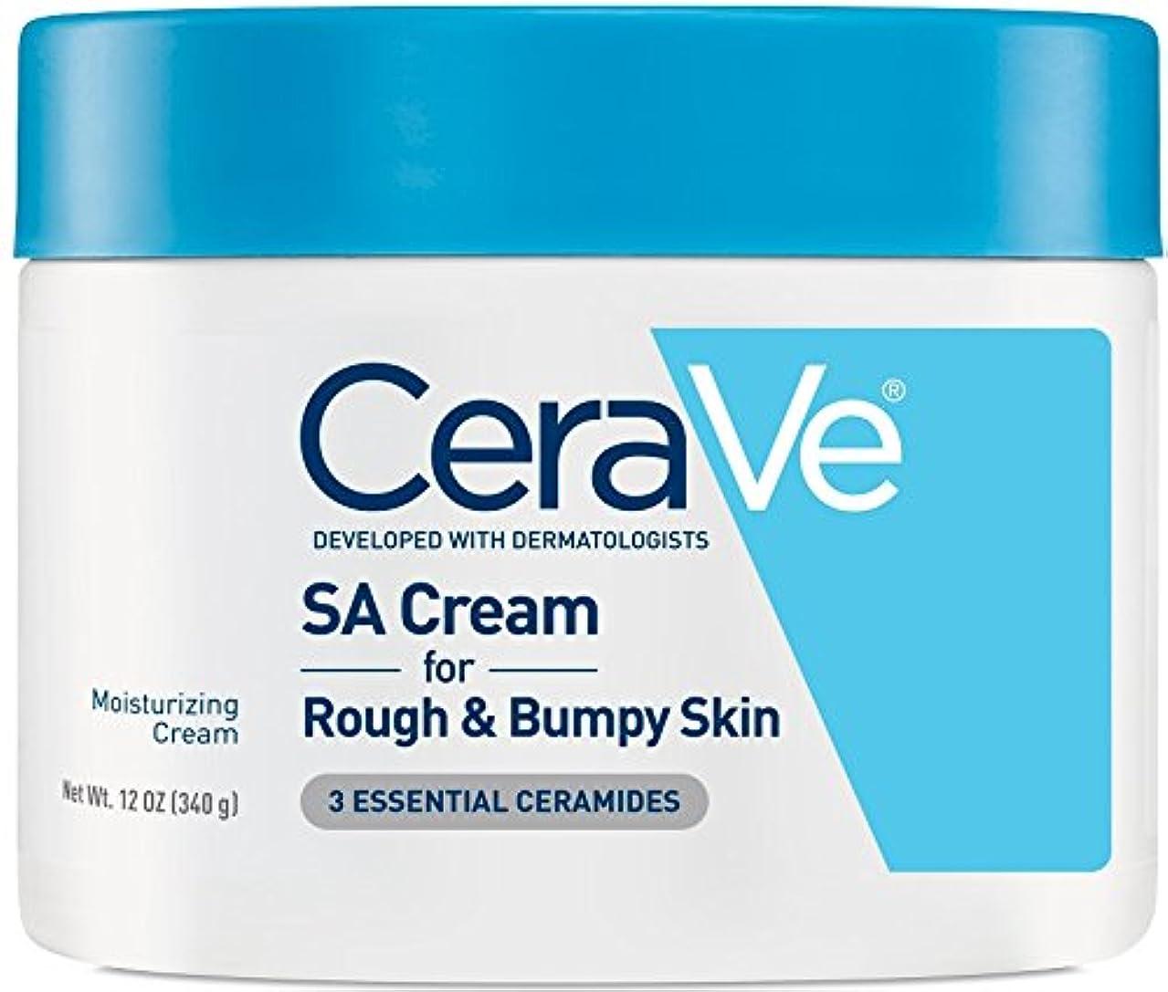 ビクター縮約線形海外直送品Cerave CeraVe Renewing SA Cream, 12 oz