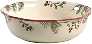 Better Homes and Garden Winter Forest Dinner Bowl