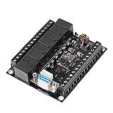Yosoo Health Gear Controlador PLC, regulador PLC Tablero de Control Industrial Controlador lógico programable 24 V CC 9600 Velocidad en baudios con MCU de 32 bits