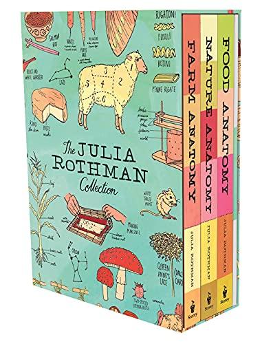 The Julia Rothman Collection: Farm Anatomy  Nature Anatomy  and Food Anatomy