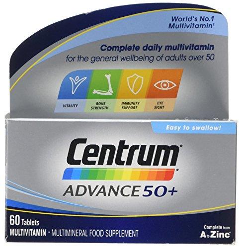 Centrum Advance 50 Plus Multivitamin Tablets, Pack of 60