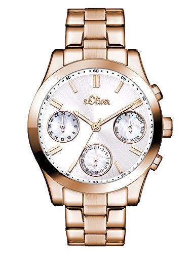 s.Oliver Time Damen-Armbanduhr SO-3311-MM